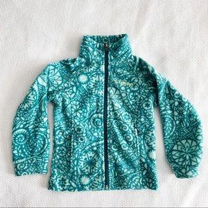 COLUMBIA Fleece Zip Up Sweater Jacket - XXS 4/5